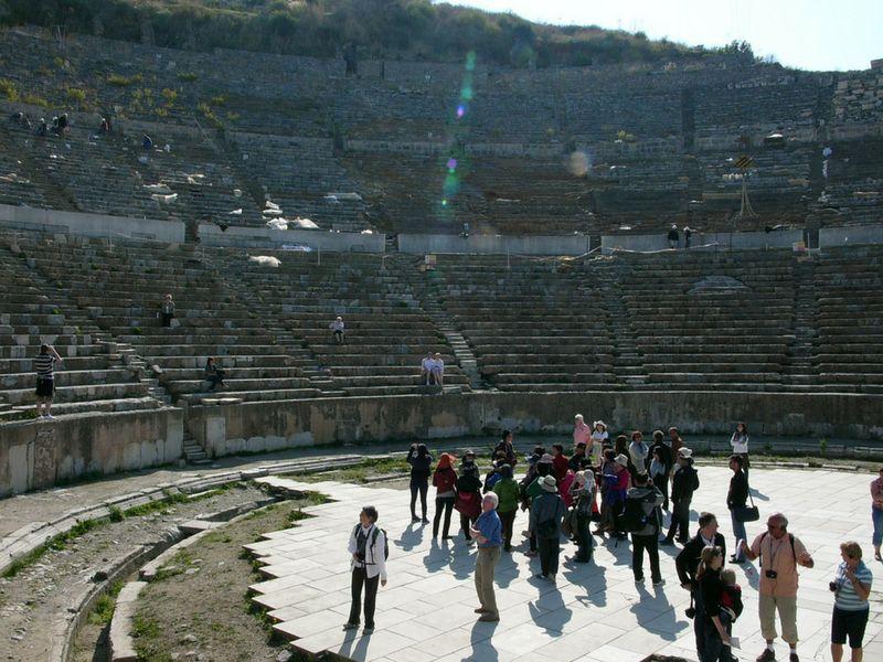El Gran Teatro tiene capacidad para 25 mil personas.