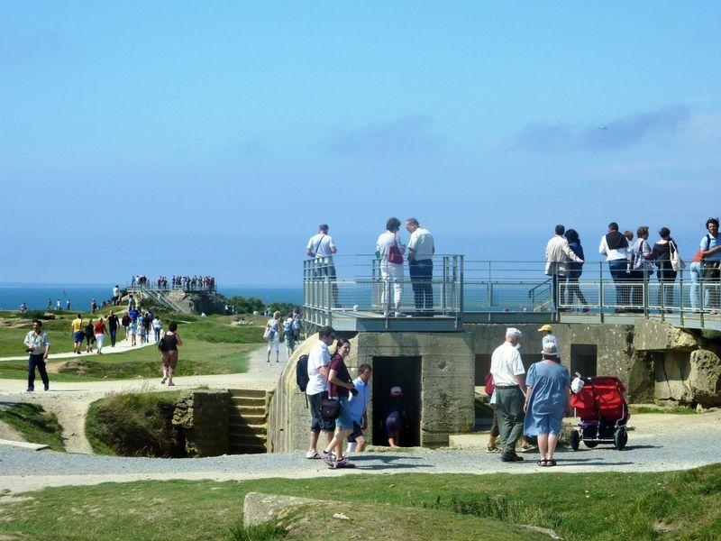 Normandía también guarda las huellas de las batallas de la Segunda Guerra Mundial.