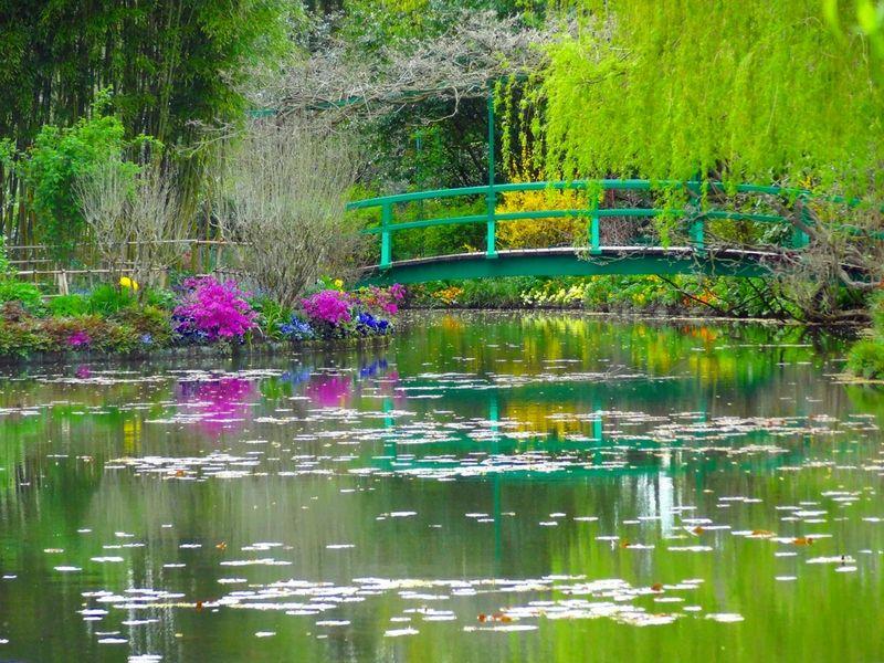 Los jardines en los que Monet se inspiró para plasmar sus obras.