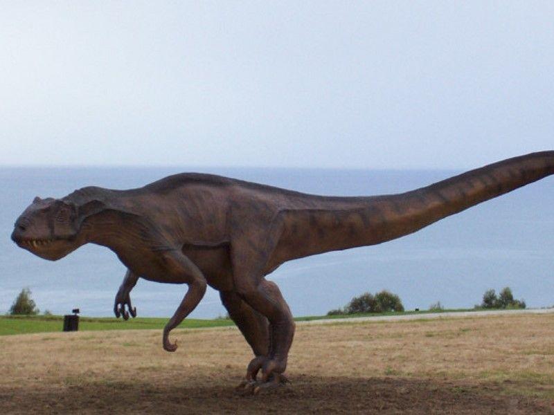 El circuito de los dinosaurios en España.