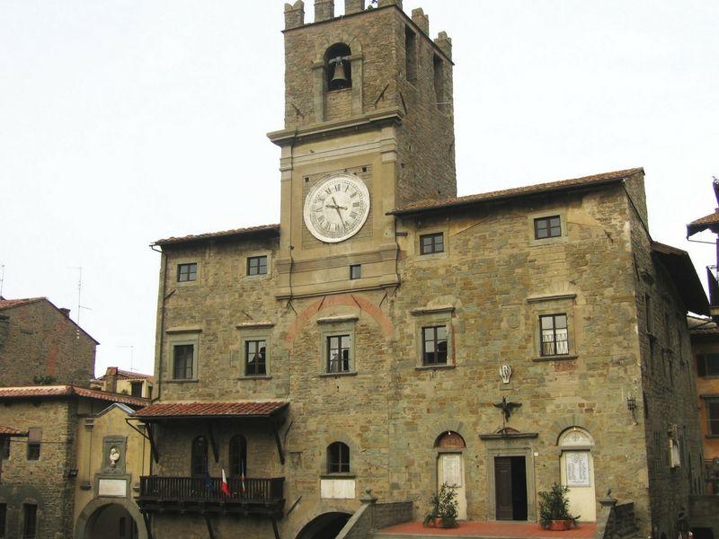 El ayuntamiento de Cortona