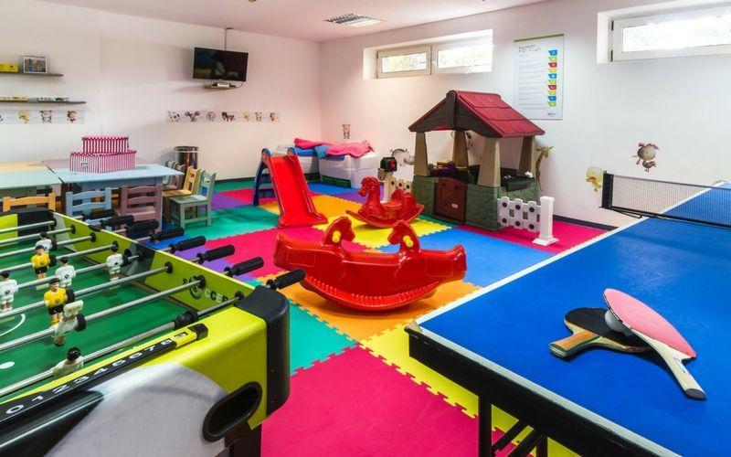 Un completo Kids Club asegura la diversión de los más pequeños.