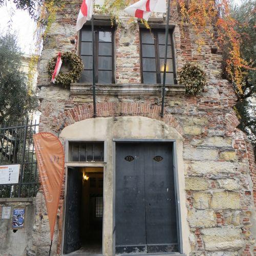 La casa natal de Cristóbal Colón hoy funciona como museo.