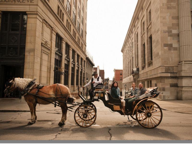 Old Montreal es la parte más antigua de la ciudad