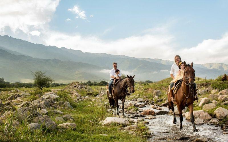 En Tafí del Valle y en San Javier es posible realizar cabalgatas.