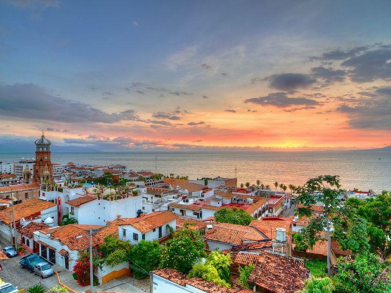 La zona colonial de Puerto Vallarta.