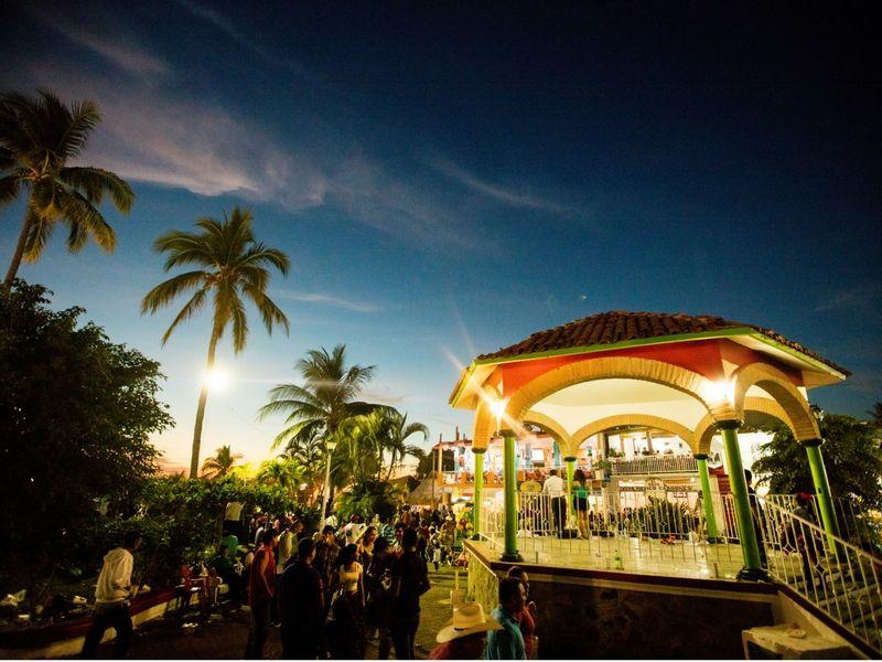 Amplias zonas esparcimiento en Riviera Nayarit.