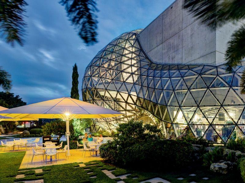 Un espacio dedicado a Dalí: se encuentra en St. Pete.