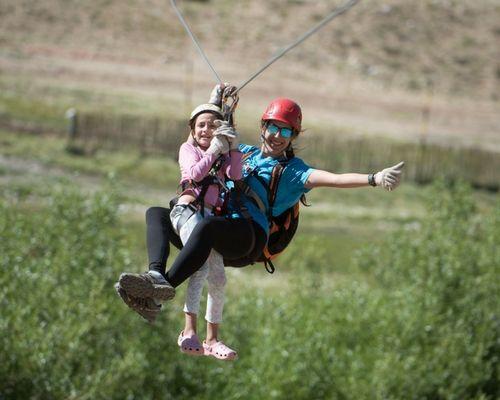 Las Leñas ofrece actividades para todas las edades.