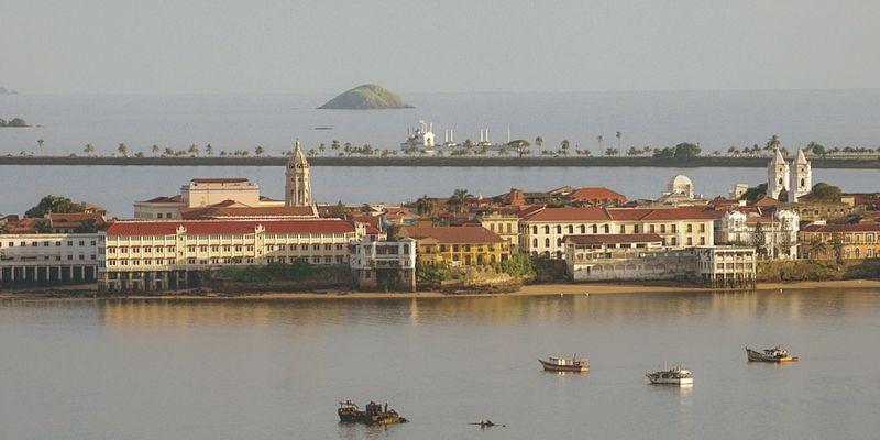 La parte histórica de la ciudad.