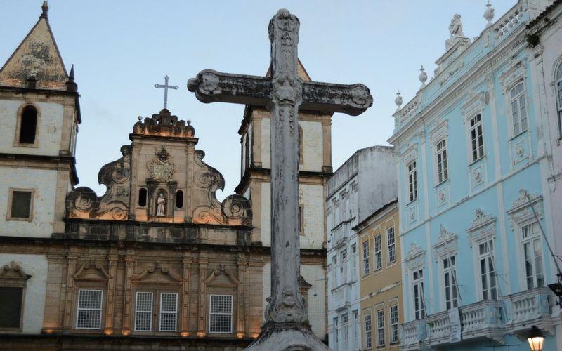 El centro histórico de Salvador.