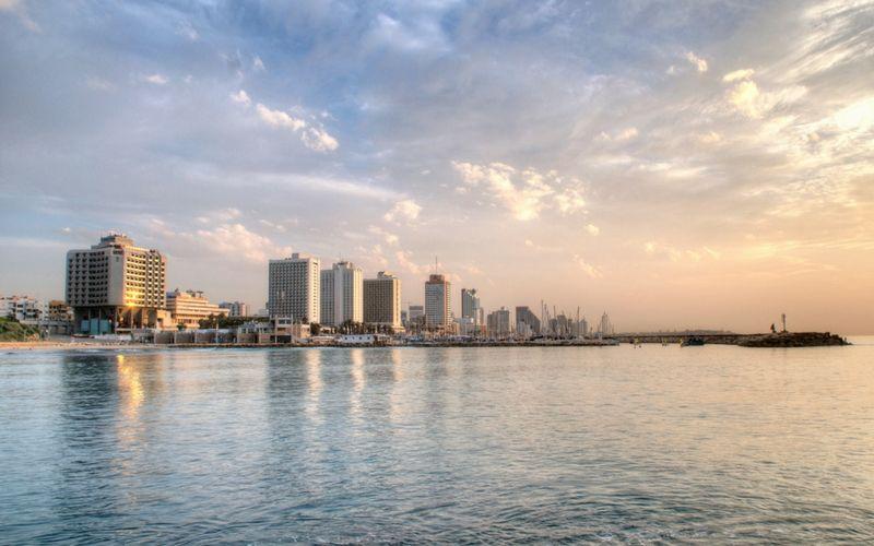 Tel Aviv es una ciudad bien occidental y moderna.