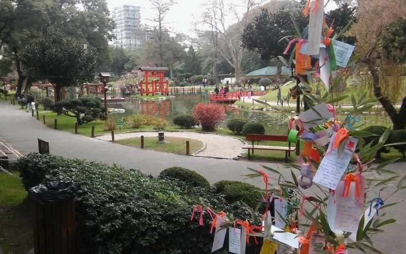 El Jardín Japonés siempre es un buen paseo para hacer en primavera.