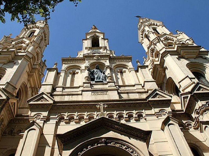 La iglesia de Santa Felicitas