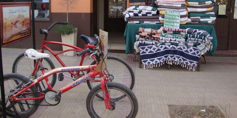 Bicicletas esperando a sus dueños