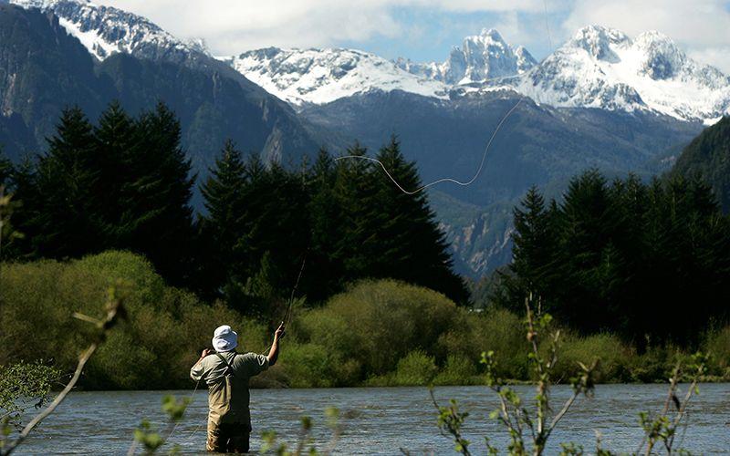 La pesca deportiva e suna de las actividades para practicar en el sur.