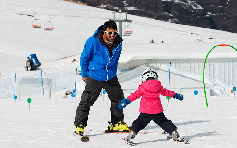 El esquí también es sinónimo de Chile.
