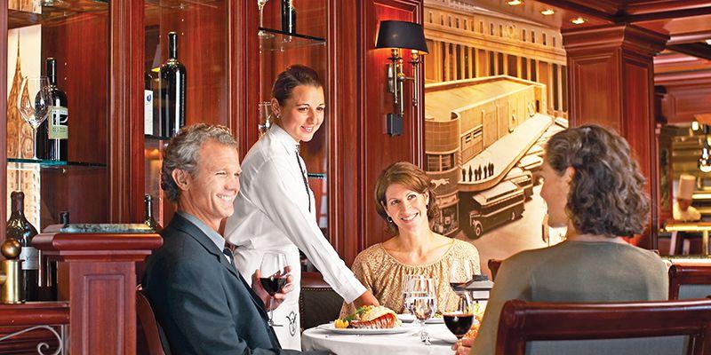 Barcos majestuosos y ambientes íntimos hacen que la estancia en un barco de Princess Cruises sea inolvidable.