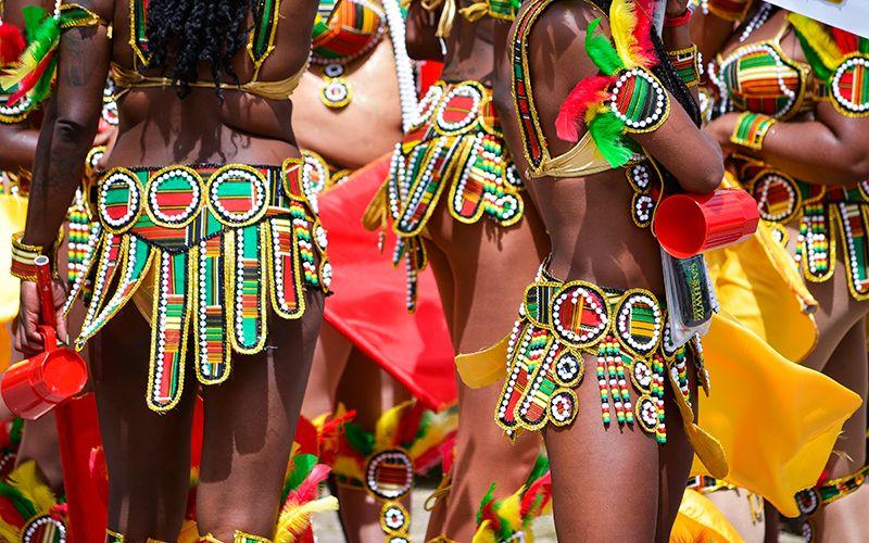 El tradicional Crop Over es una celebración plena de color