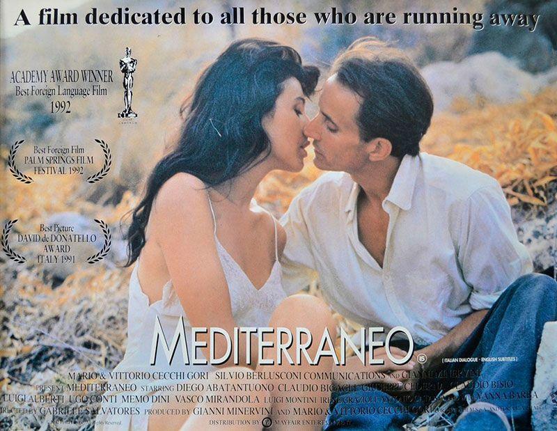 El filme tiene como escenario a Grecia.
