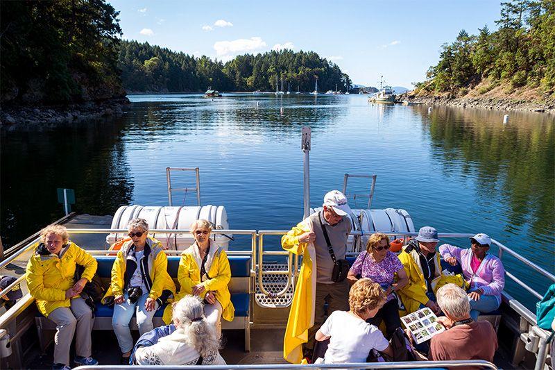 El Parque Gulf Islands se encuentra a solo un tramo de ferry desde Vancouver.