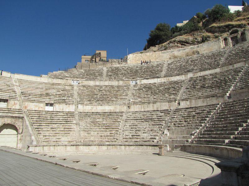 El anfiteatro de Amman.