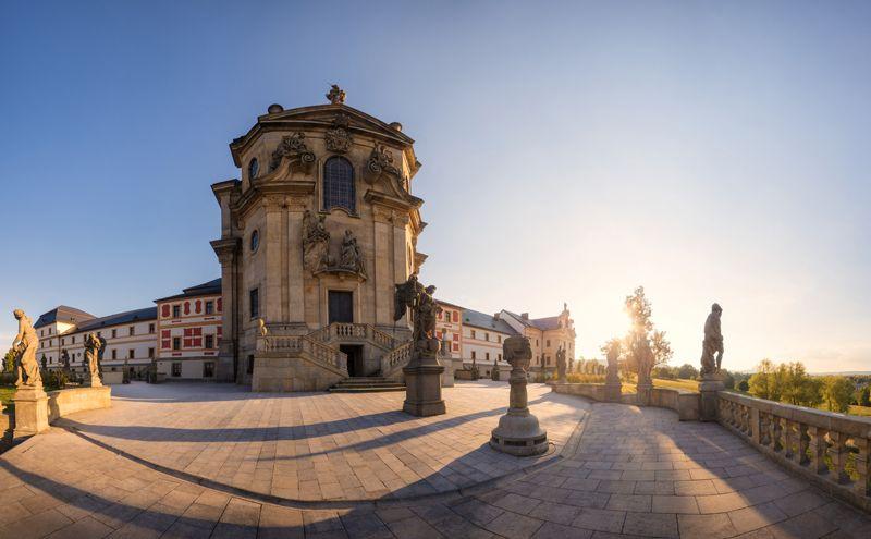 El complejo Kuks es uno de los mayores exponentes del barroco en la región de Bohemia.