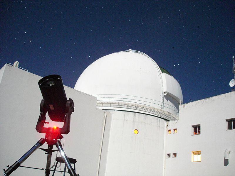 El observatorio del Complejo Astronómico El Leoncito (Casleo)