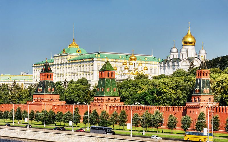 El Kremlin incluye tantos atractivos que lleva varios días conocerlos todos.