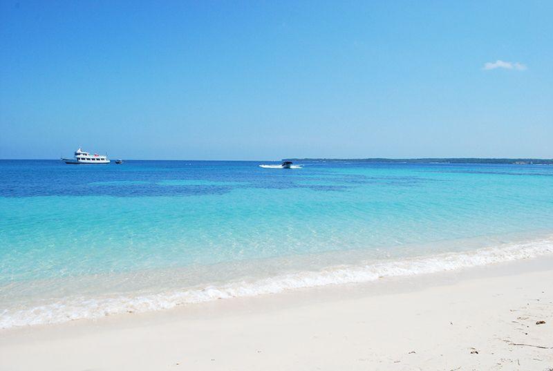 Playas soñadas tanto en Barú como en las islas de los alrededores.
