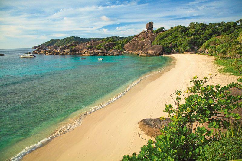 Las playas de las islas Similan constituyen un pequeño paraíso tailandés que conquista a los viajeros de todo el mundo.