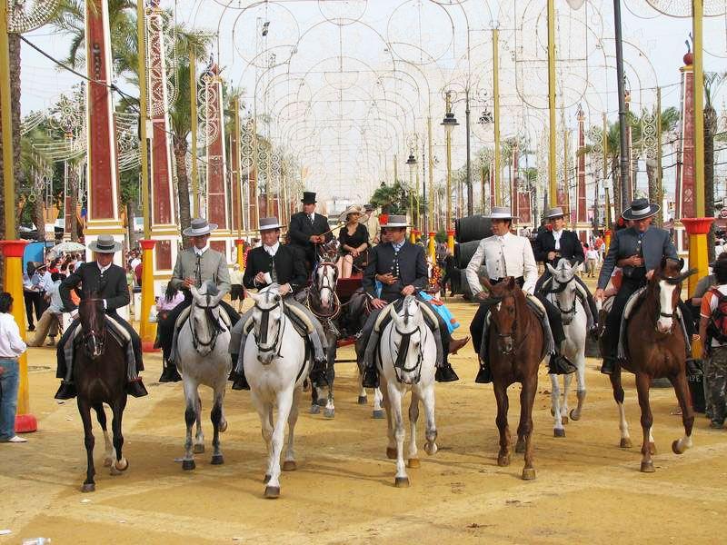 Feria del Caballo en Jerez.
