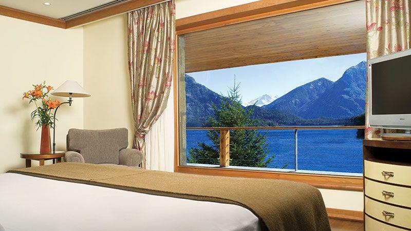 Desde las habitaciones también se puede apreciar la vista.