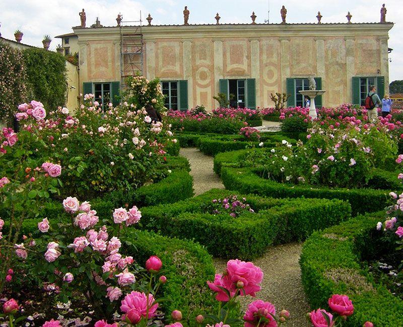 Detalles de los Jardines Bóboli.