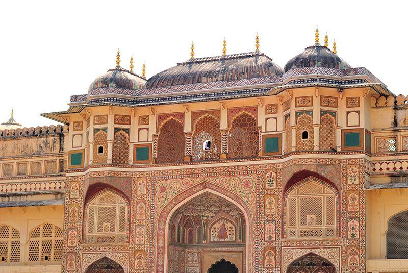 El Fuerte de Amber constituye uno de los hitos de Jaipur.