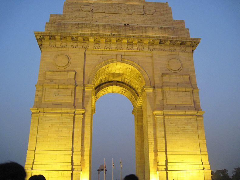 La Puerta de India fue construida en honor a los caídos en guerra.
