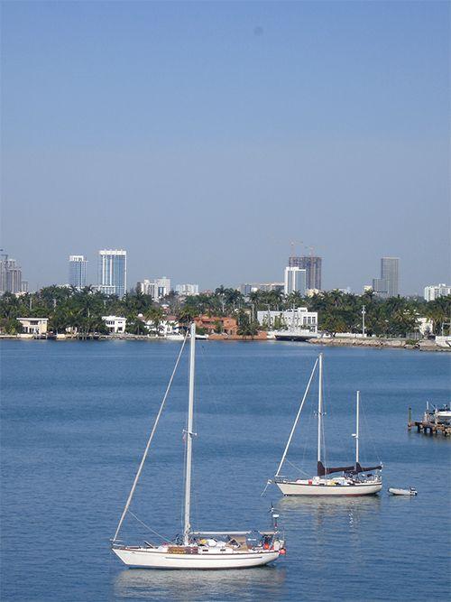 Miami Beach es el paraje para los deportes acuáticos