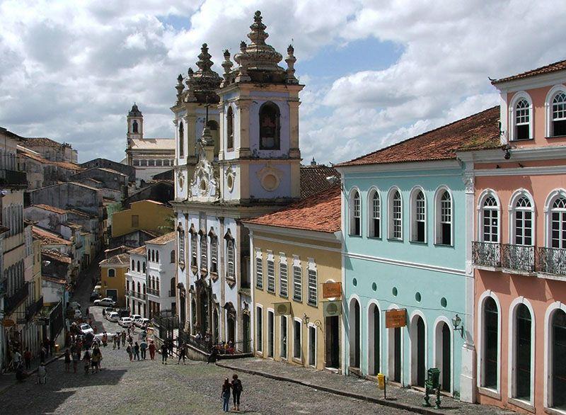 Salvador y su centro histórico.