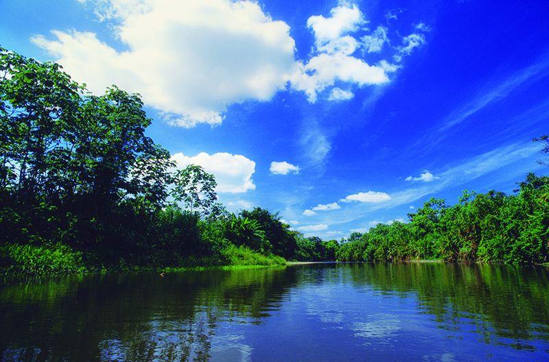 Río Sambu.