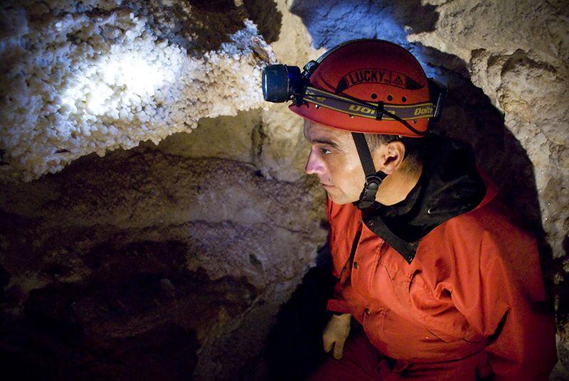 La caverna El Sauce es la única que se puede explorar en Córdoba.