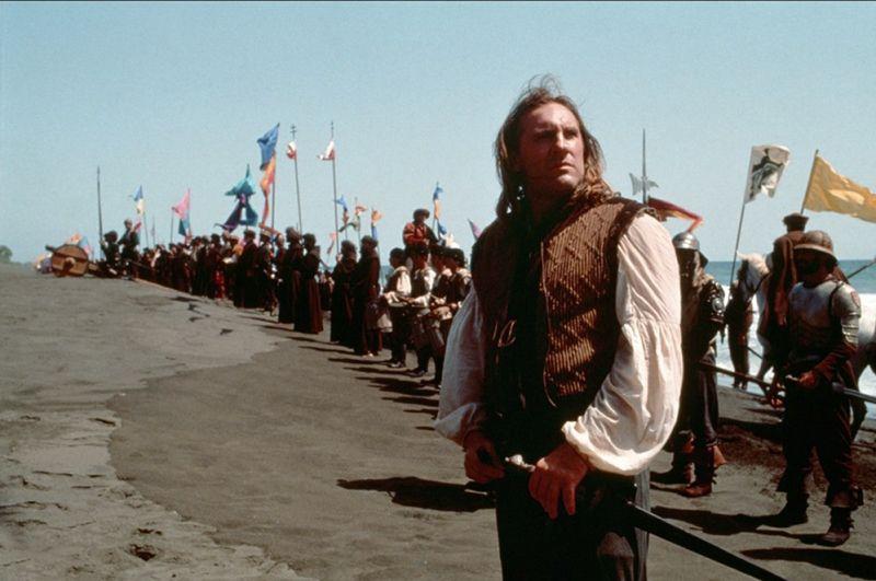 """Gerard Depardieu en un fotograma de """"1492"""