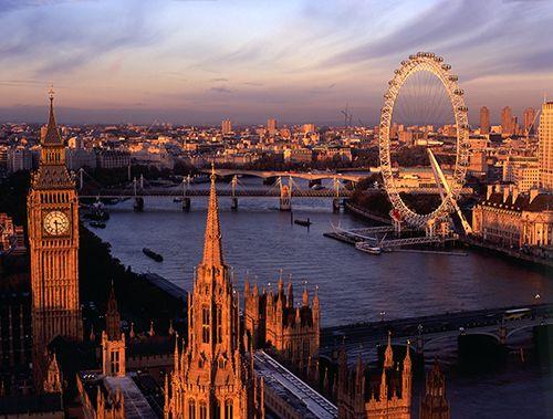 Varias atracciones permiten obtener las mejores panorámicas de las capitales europeas