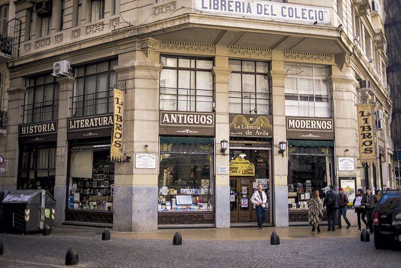 La librería más antigua de Buenos Aires se llama De Ávila.