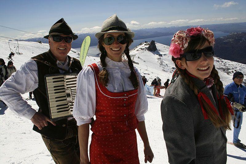 Todos los centros de esquí cuentan con un amplio calendario de eventos.