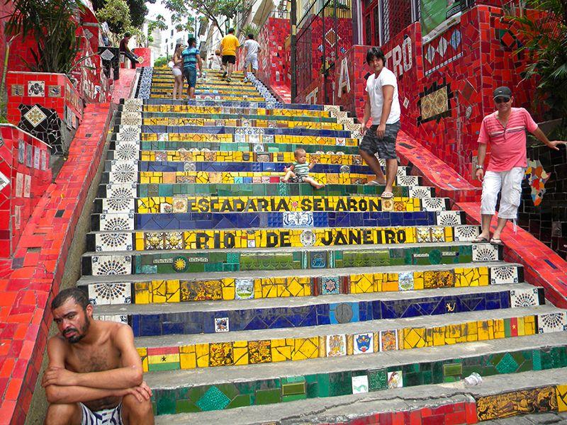 La Escadaria Selaron