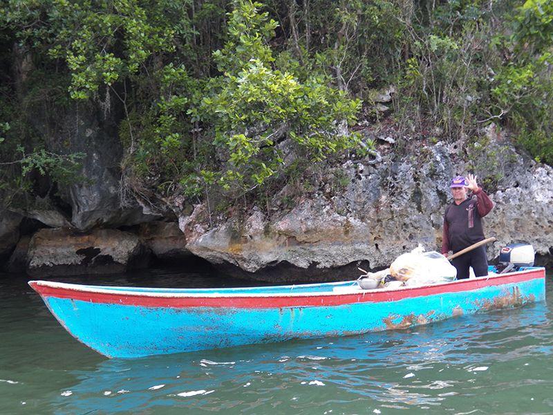 En el Parque Nacional Los Haitises la naturaleza y sus manifestaciones son los protagonistas.