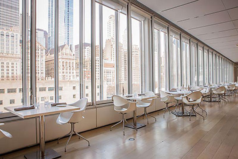 Terzo Piano es el espacio donde comer en el Instituto de Arte de Chicago.
