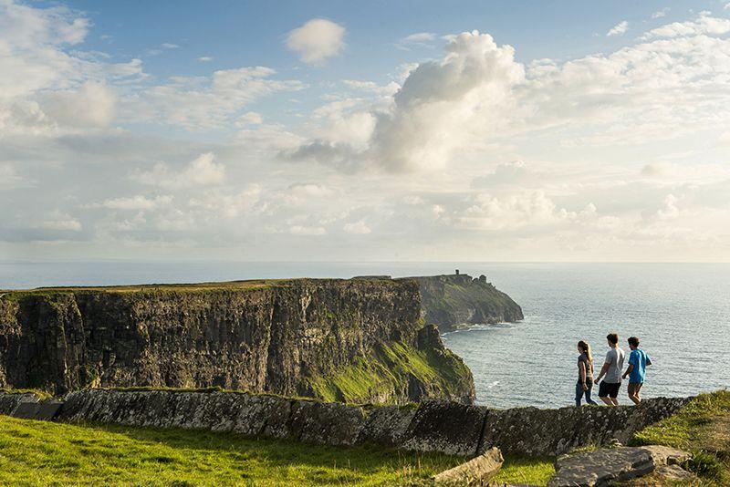 Al oeste de Irlanda