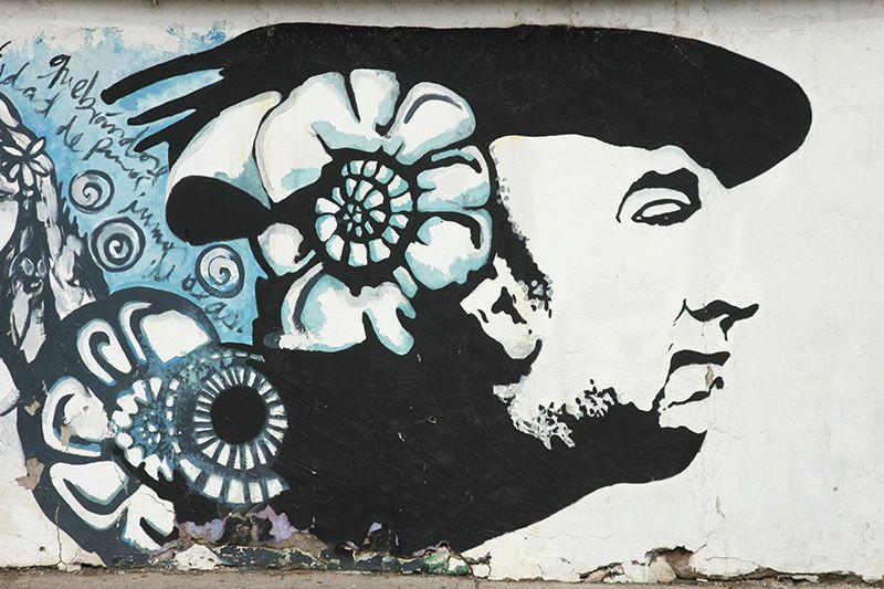 El Museo La Chascona fue una de las propiedades del poeta chileno Pablo Neruda.