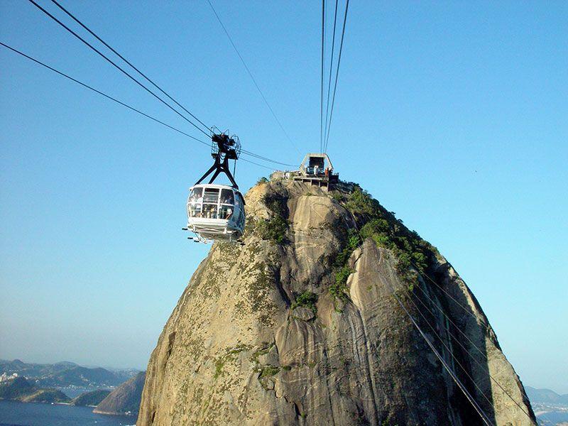 Una de las postales cariocaas por excelencia: el pan de azúcar